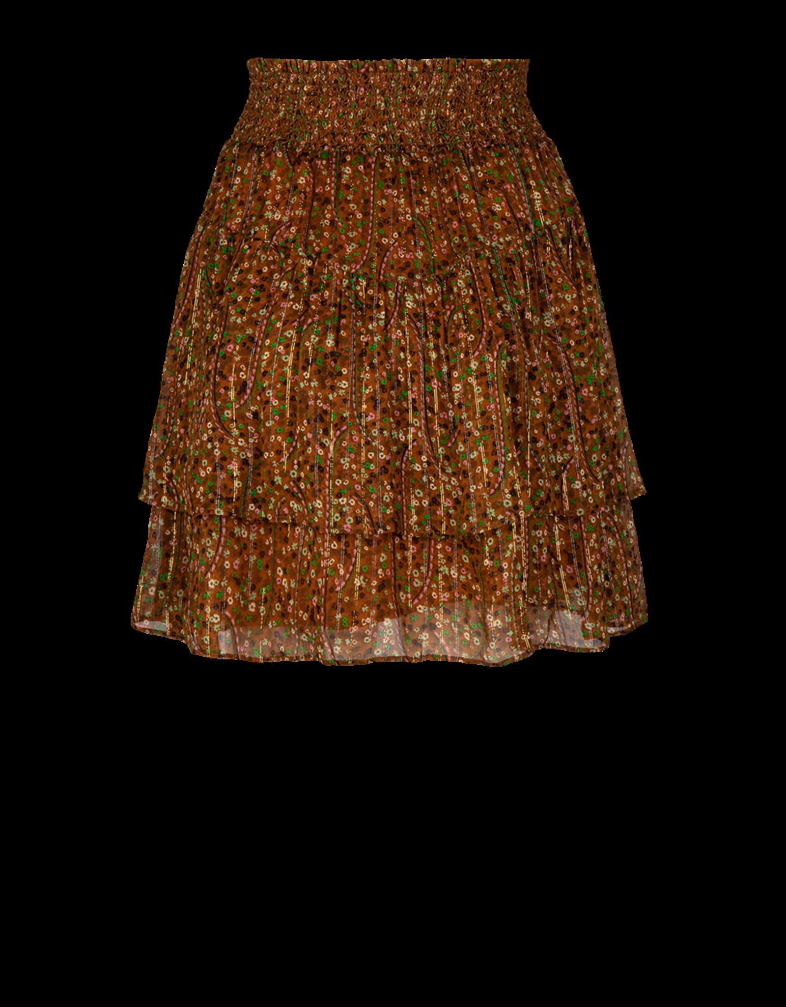Dante6 Wonderous floral print skirt Multicolour
