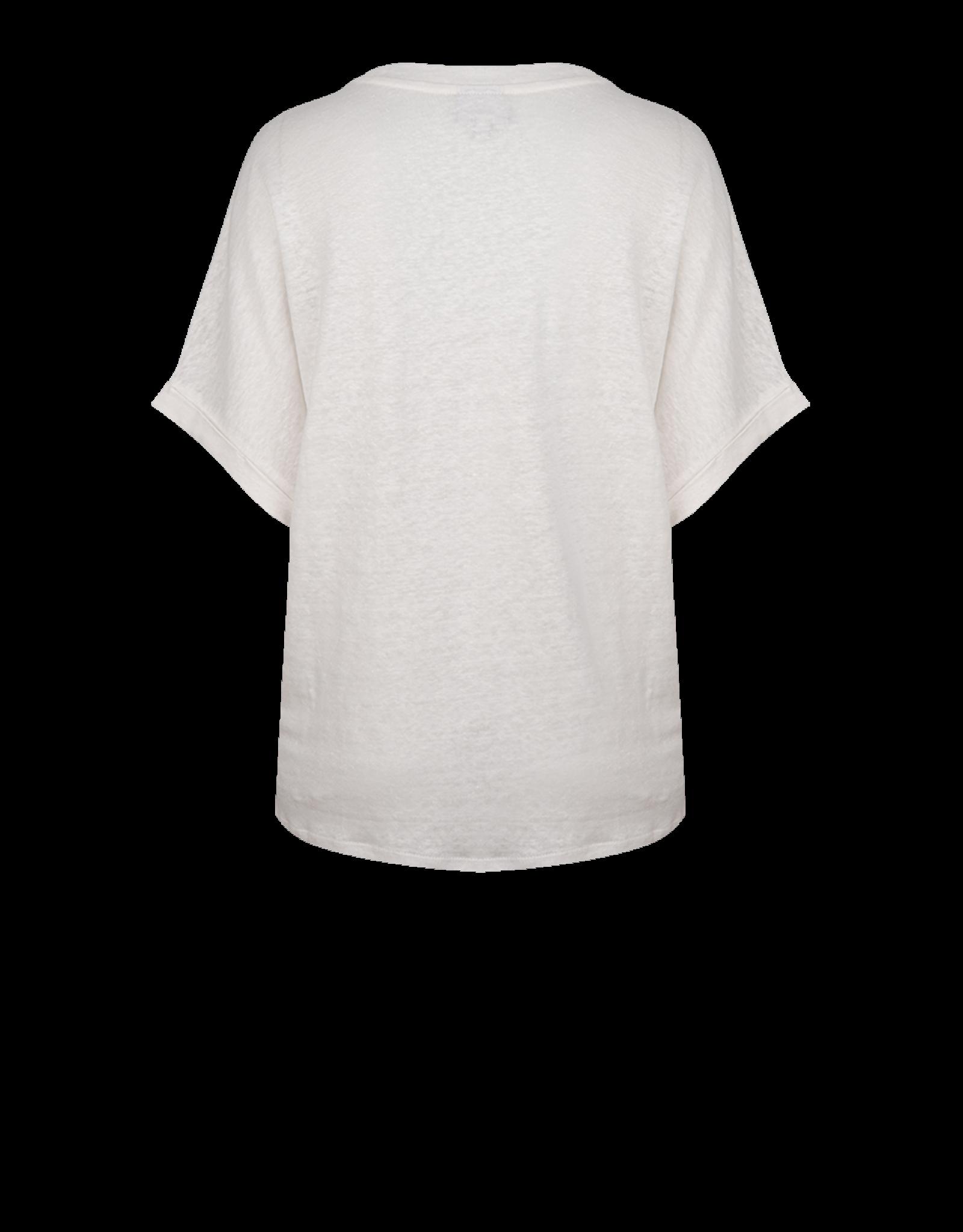 Dante6 Rock print tee Optic White