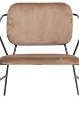 Lounge chair brown