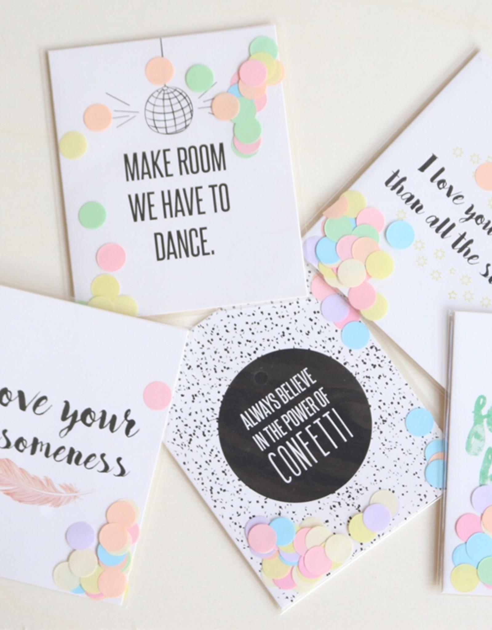 The Gift Label Confetti Cards