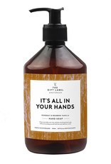 The Gift Label Hand Soap It's all in your hands 500ml