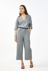 By-bar ines linen pant smoke blue