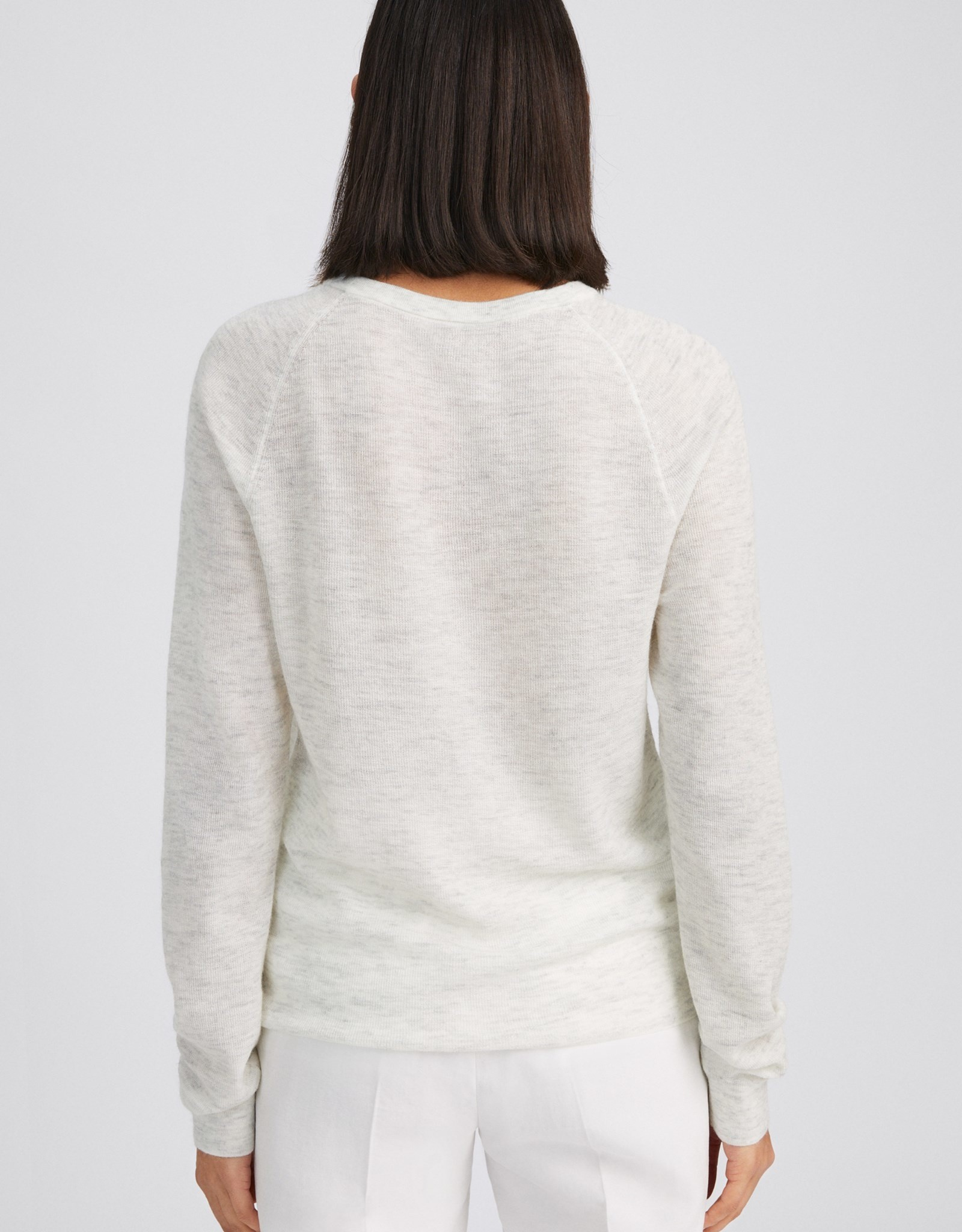 Filippa K Petra Sweater Light Grey