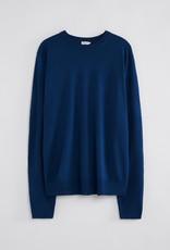 Filippa K M. Merino Sweater Marine Blue