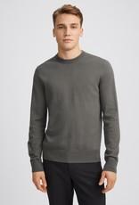 Filippa K M. Cotton Merino Sweater Nickel Grey