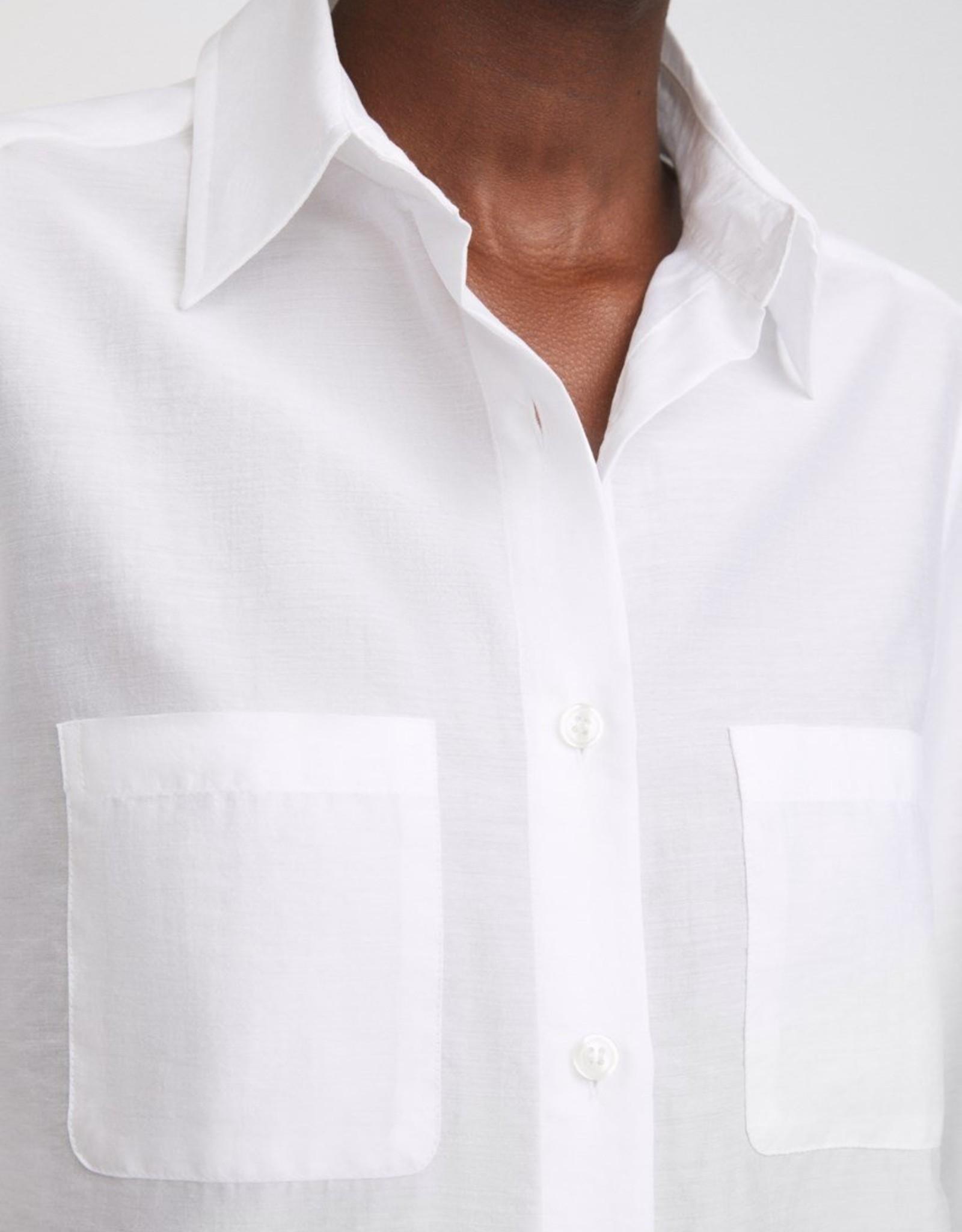 Filippa K Helena Shirt White Chalk
