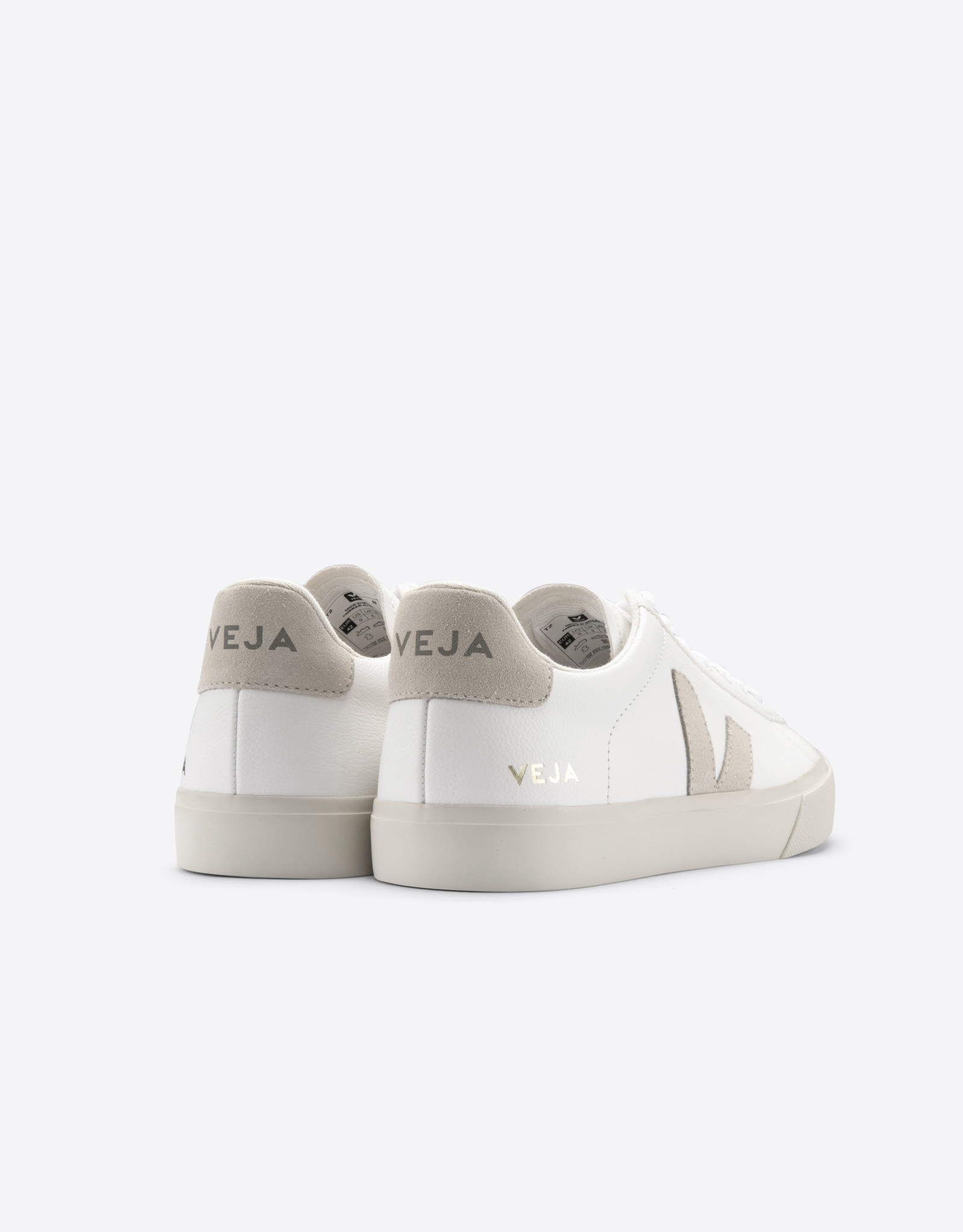 Veja CAMPO CHROMEFREE EXTRA-WHIITE_NATURAL-SUEDE WOMEN