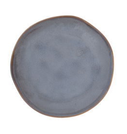Urban Nature Culture Plate Grow reactive glaze ebony