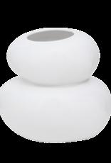 Urban Nature Culture Vase Pebbles White