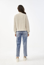 By-bar berry cardigan O linen