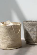 Urban Nature Culture Storage basket with handle jute