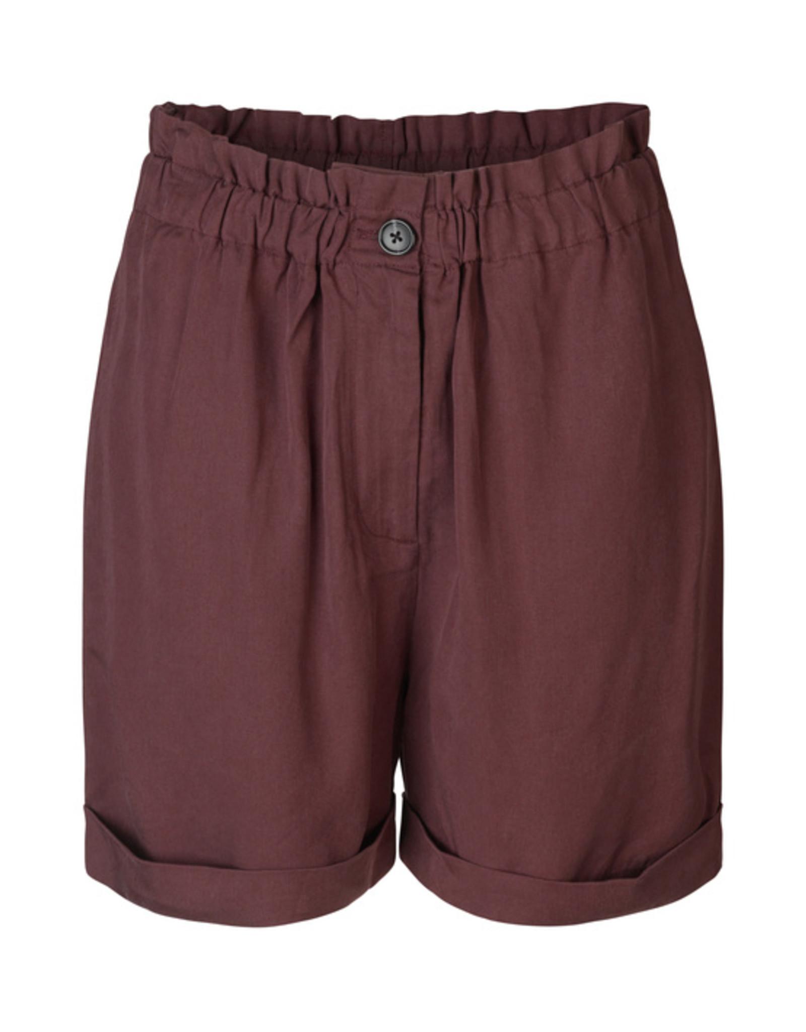 Samsoe Samsoe Sierra shorts DECADENT CHOCO