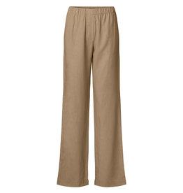 Samsoe Samsoe Hoys straight pants CARIBOU lyocell