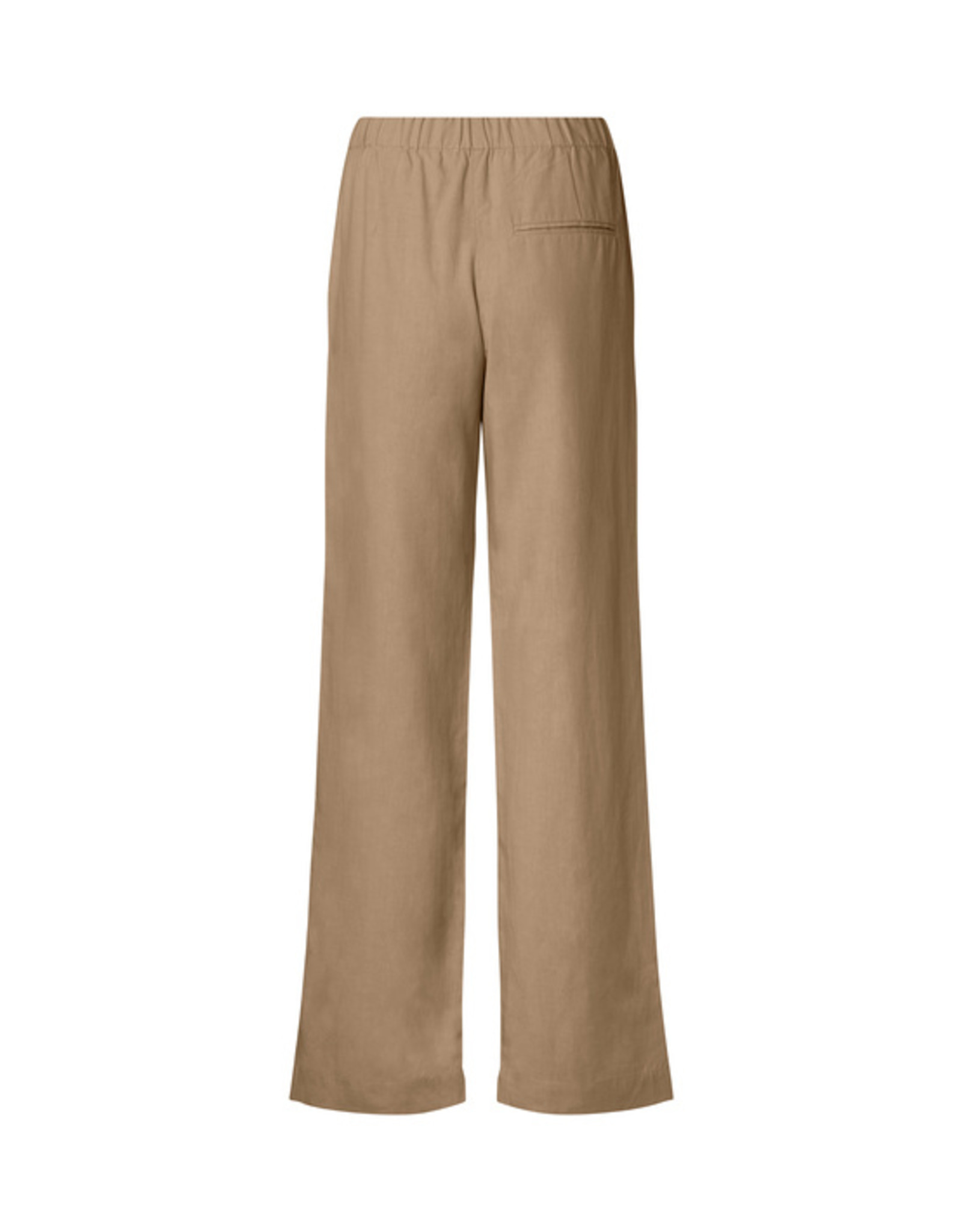 Samsoe & Samsoe Hoys straight pants CARIBOU lyocell