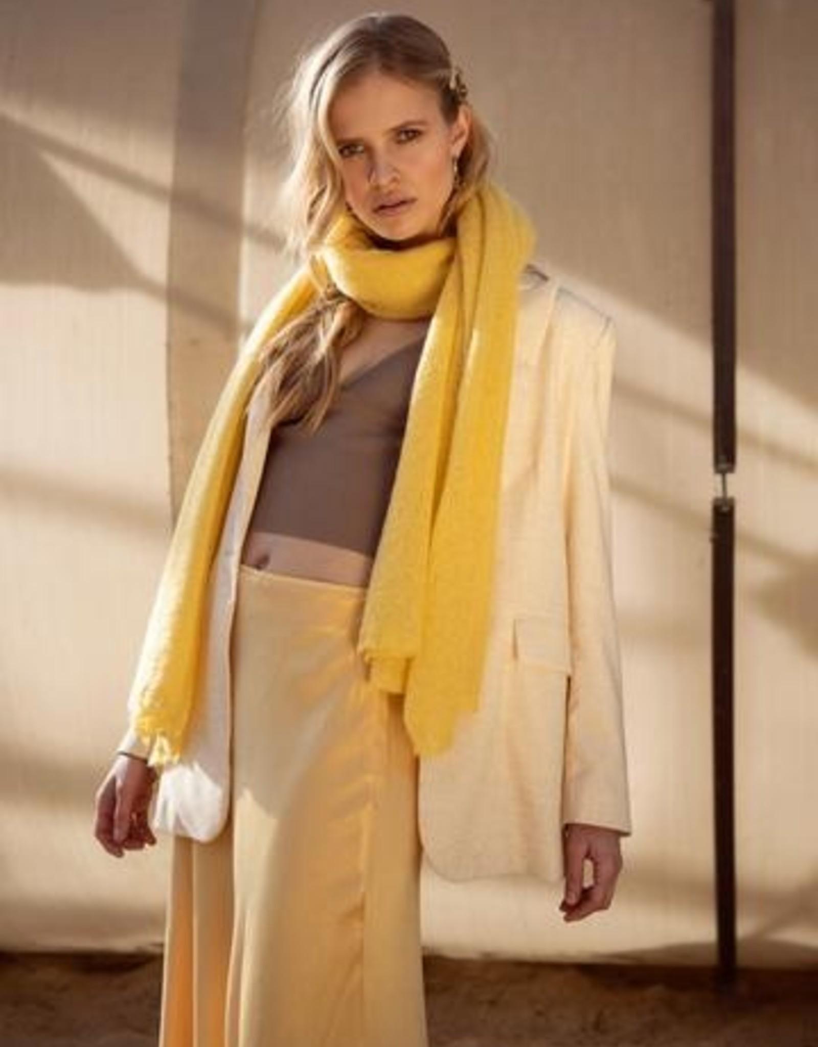 leselles scarf Helene ginger