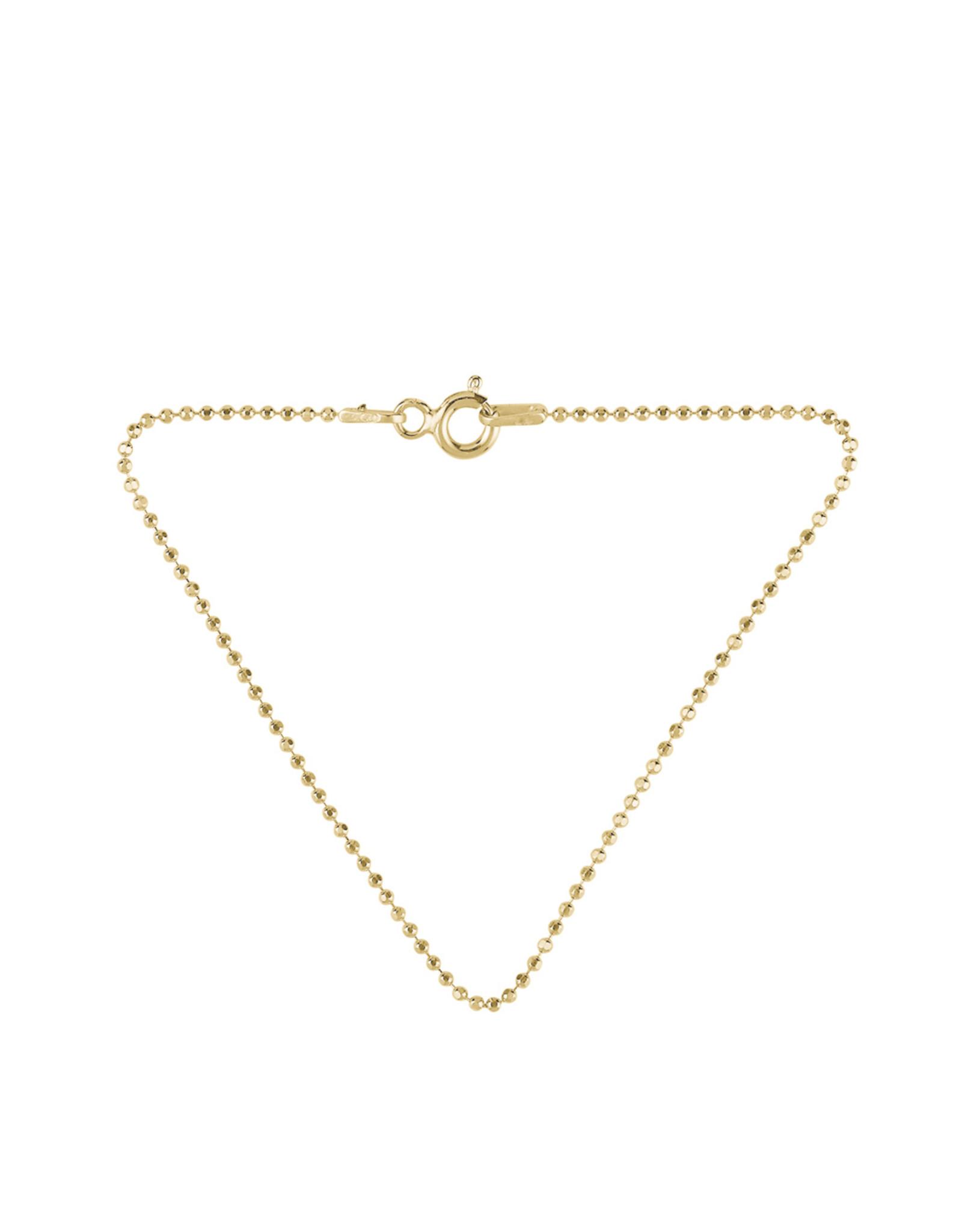 Pernille Corydon Facet Plain Bracelet 16cm