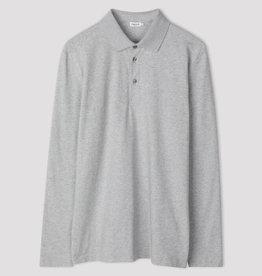 Filippa K M. Luke Lycra Polo Shirt Light Grey