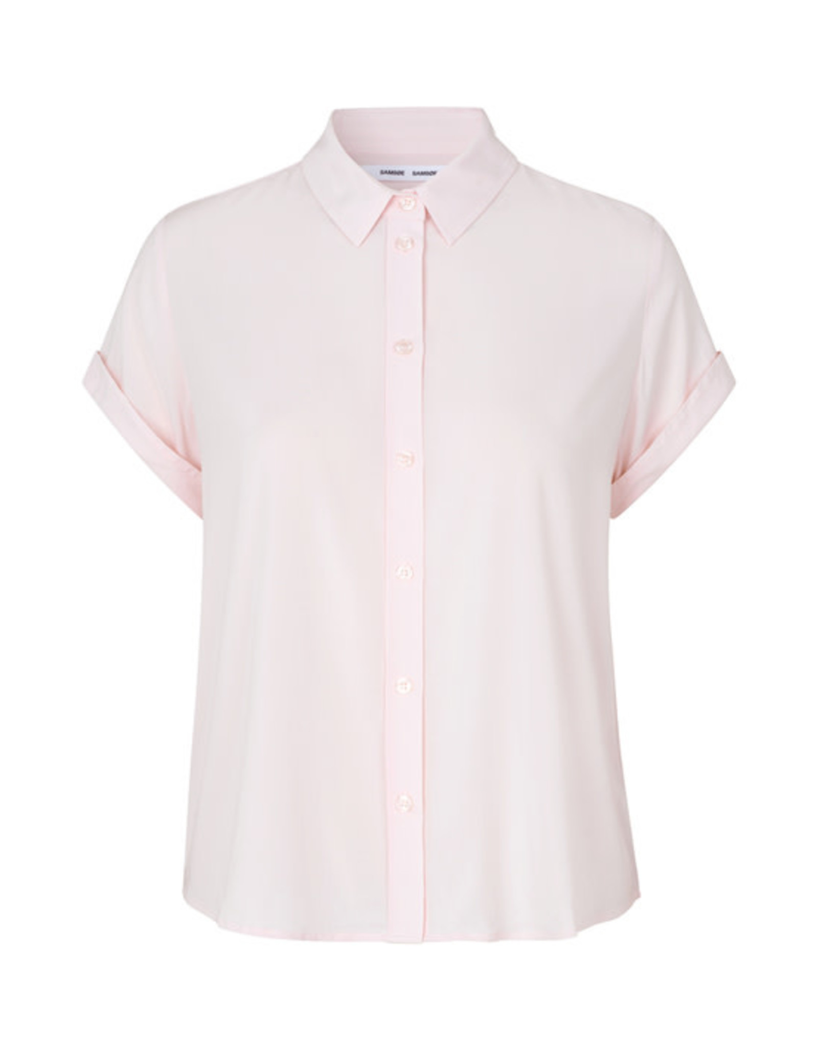 Samsoe Samsoe Majan ss shirt CRYSTAL PINK