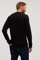 Denham ROGER CREW NECK CMJ BLACK
