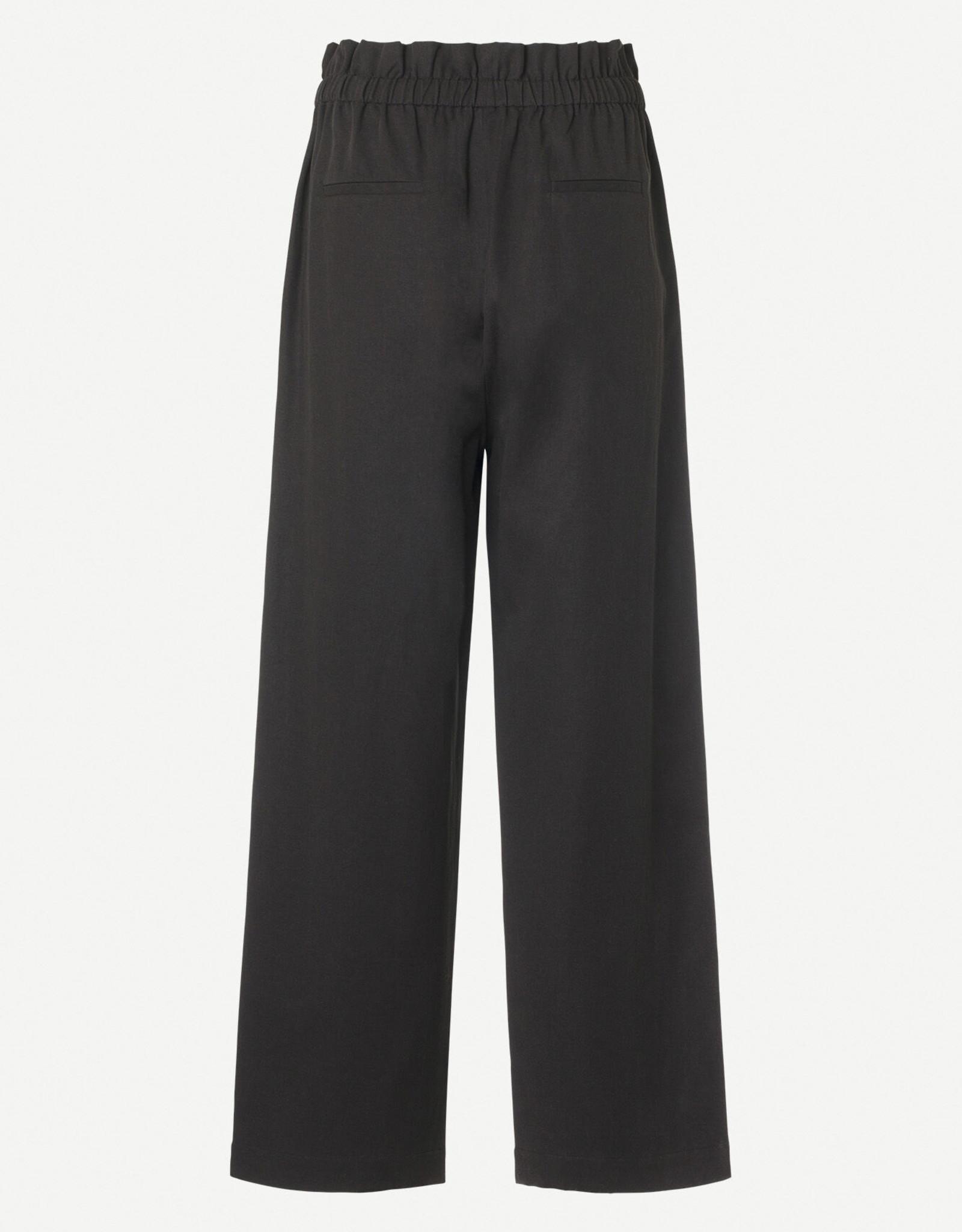Samsoe Samsoe Aya trousers 11531 BLACK