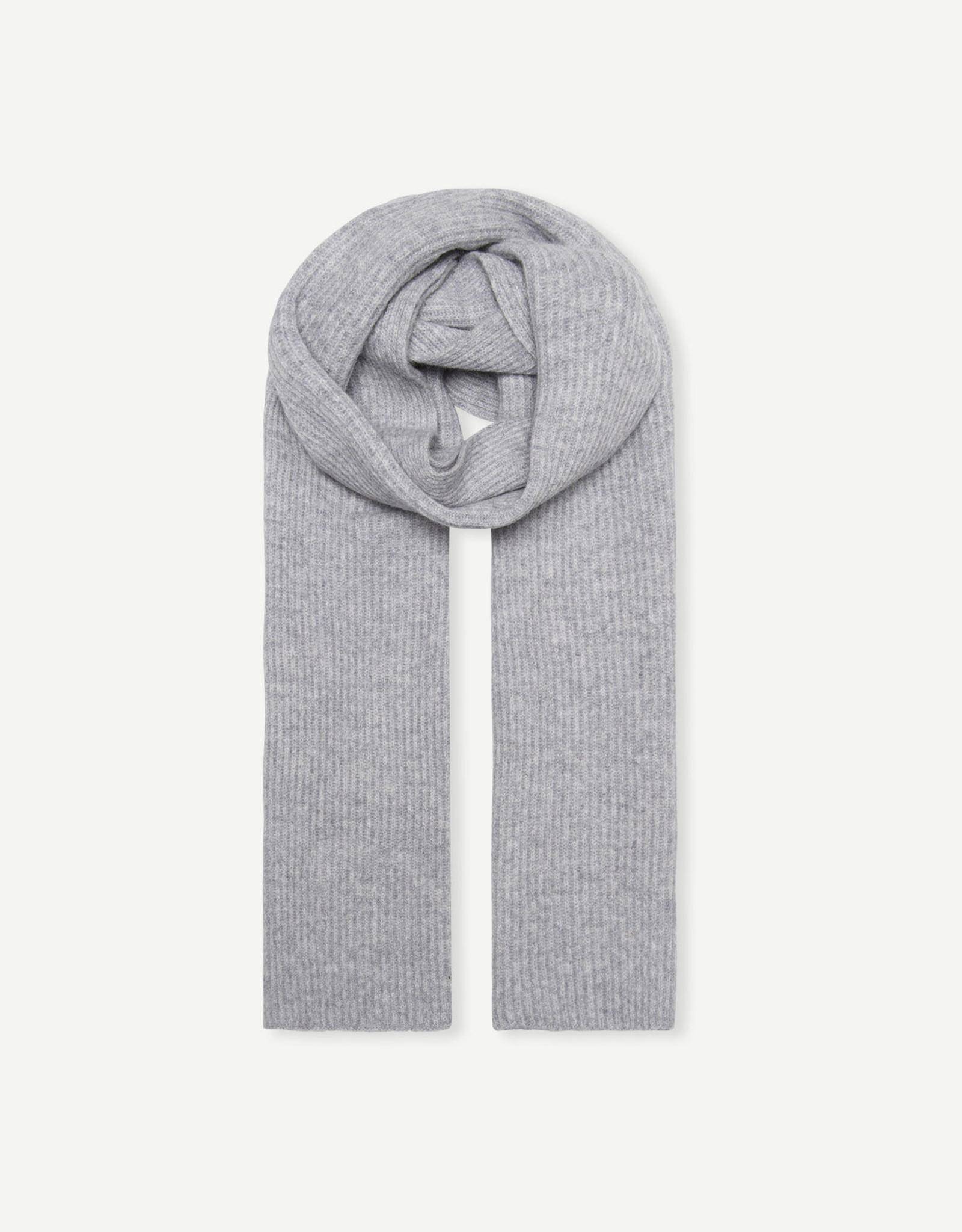 Samsoe Samsoe Amaris scarf 12758 GREY MEL.
