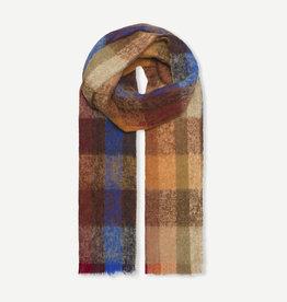 Samsoe Samsoe Corunda scarf 12873 ORANGE MULTI CH.