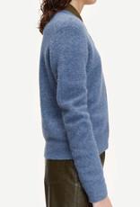Samsoe Samsoe Nor short cardigan 7355 CHINA BLUE MEL.