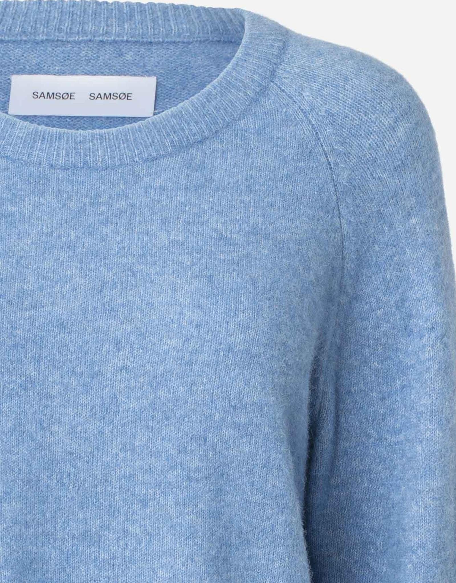 Samsoe Samsoe Nor o-n short 7355 LICHEN BLUE MEL.