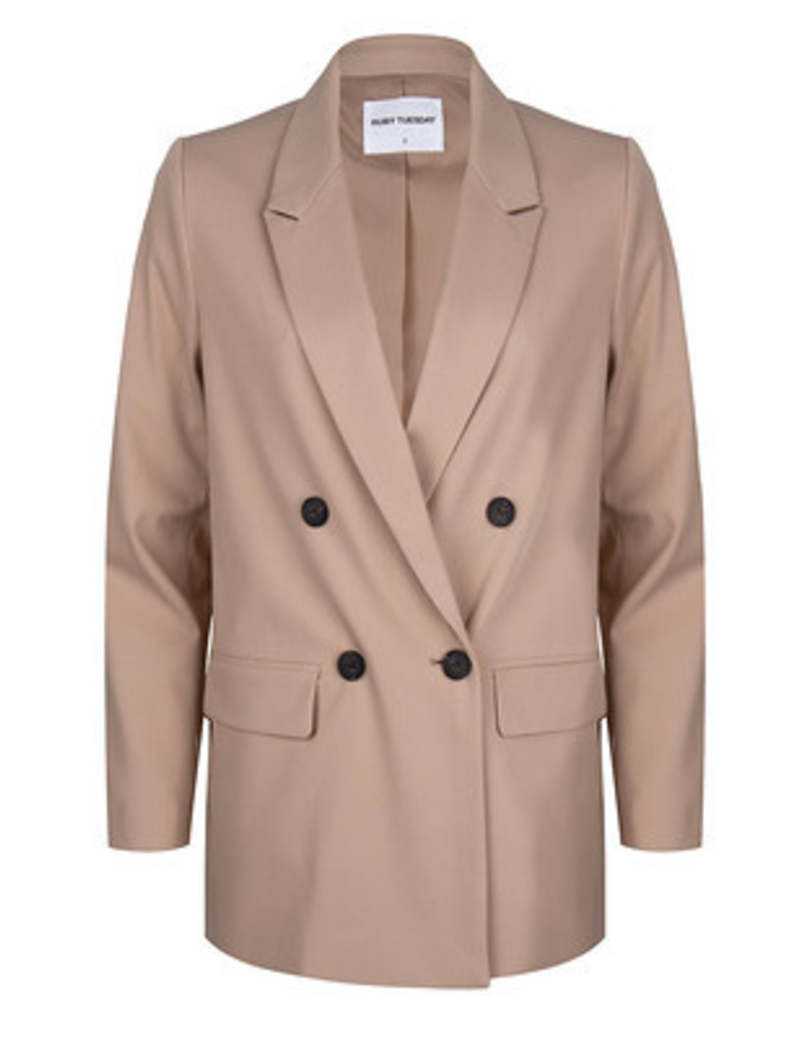 Ruby Tuesday Rai double breasted blazer beige