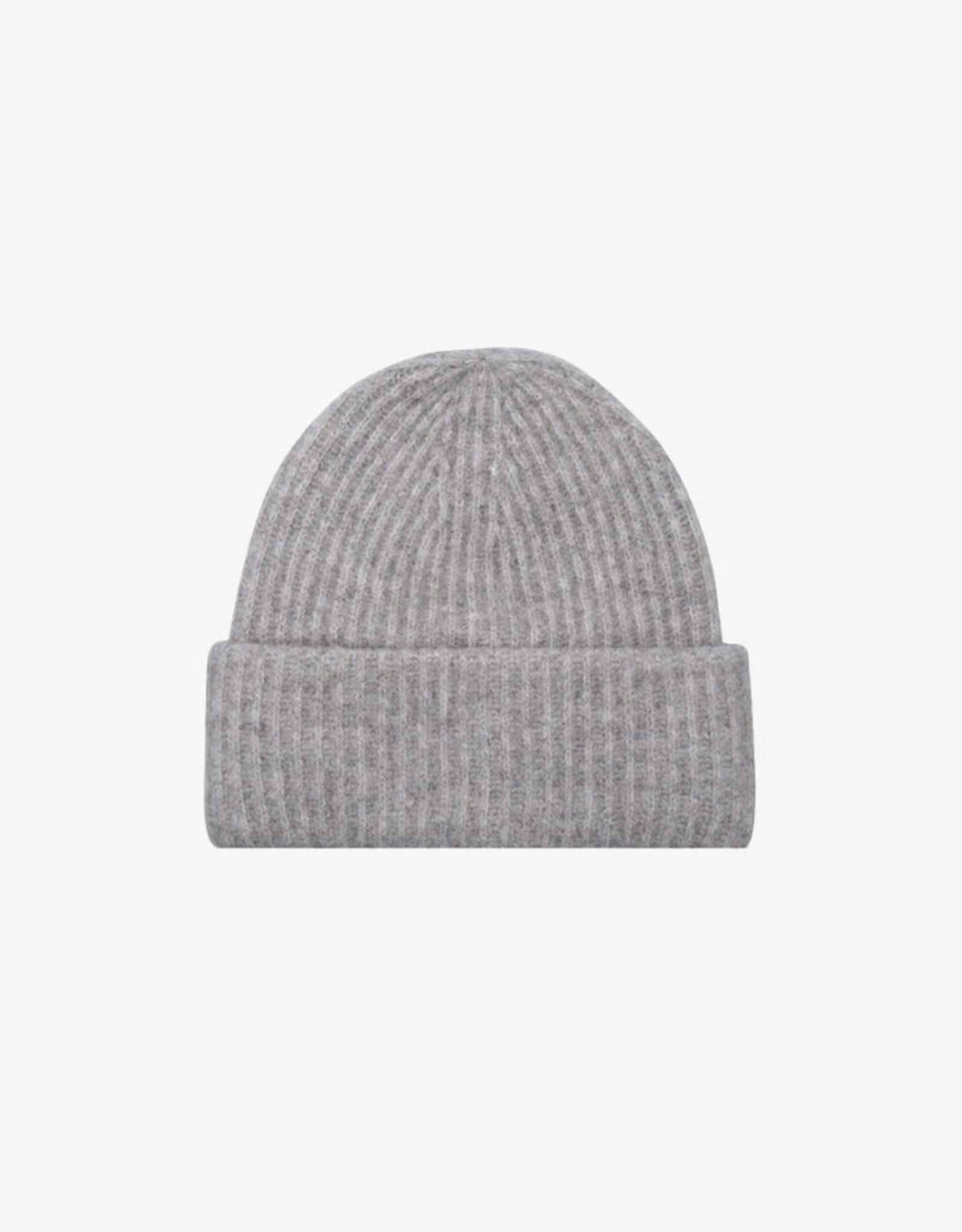 Ruby Tuesday Valora knitted beanie grey melange