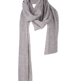 Ruby Tuesday Vevias knitted scarf grey melange