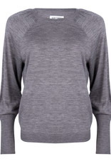 Ruby Tuesday valua round neck pullover grey melange