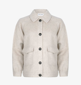 Ruby Tuesday Maerle woolen jacket light grey melange
