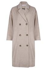 Ruby Tuesday Malon oversized woolen coat light grey melange