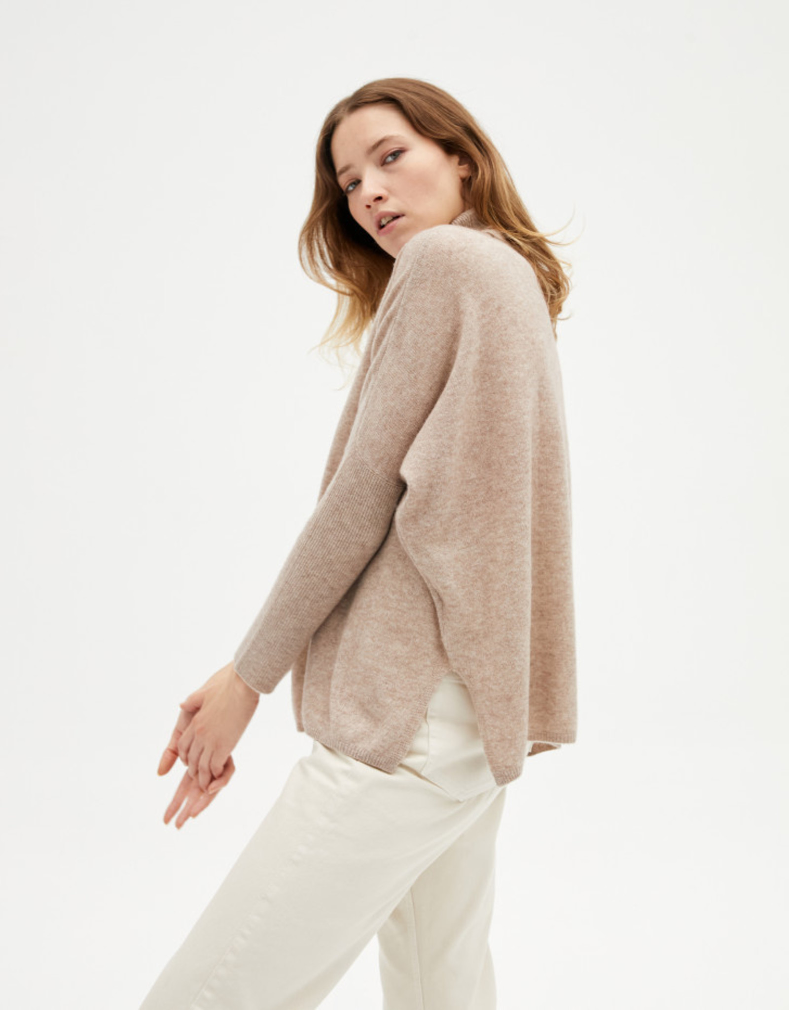 Absolut Cashmere CLARA TAUPE CHINE