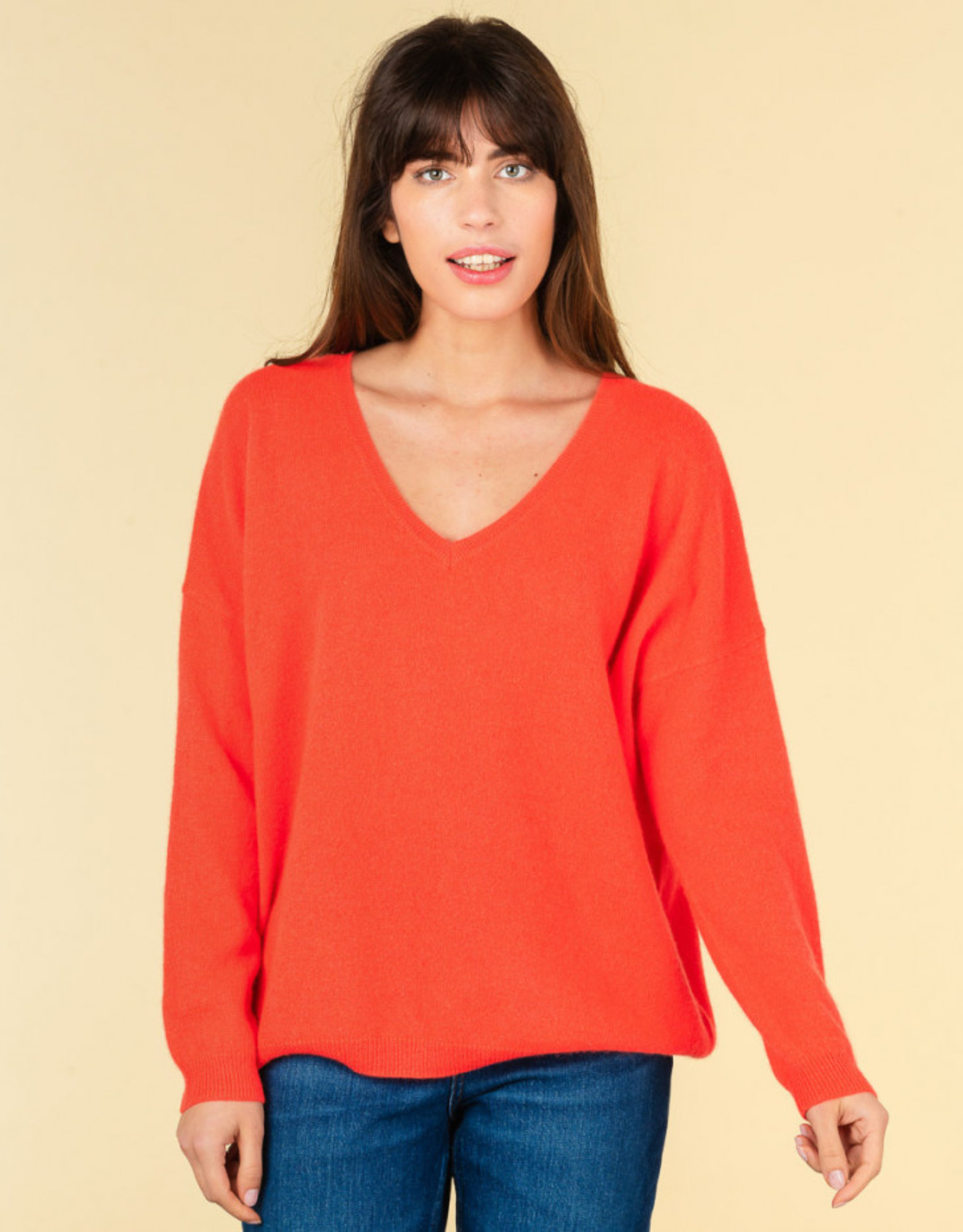 Absolut Cashmere ANGELE CORAIL FLUO