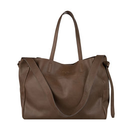 Dante6 Travis leather tote bag Smokey Olive