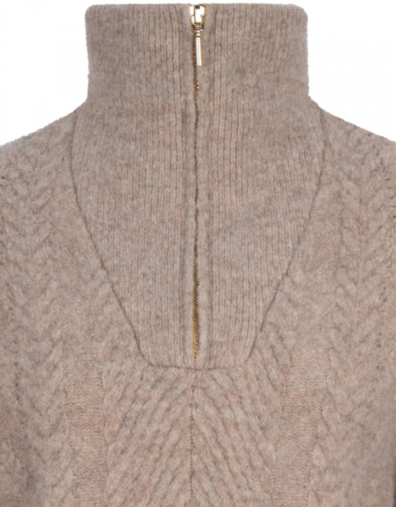 Dante6 Yina zip cable sweater Fungi