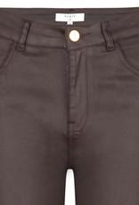 Dante6 Melle coated pants Chocolate