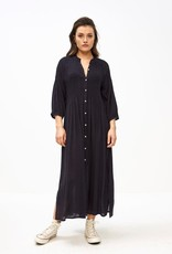 By-bar loulou smocked dress midnight
