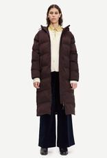 Samsoe Samsoe Sera coat CHOCOLATE PLUM