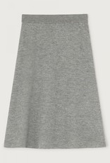 American Vintage TADBOW JUPE TAILLE HAUTE GRIS CHINE