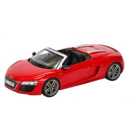 Audi AUDI R8 SPYDER(2012)brilliant red.