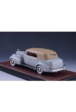 Cadillac CADILLAC V16 SERIES 90 FLEETWOOD SEDAN CONVERTIBLE-1938(grey)closed top.