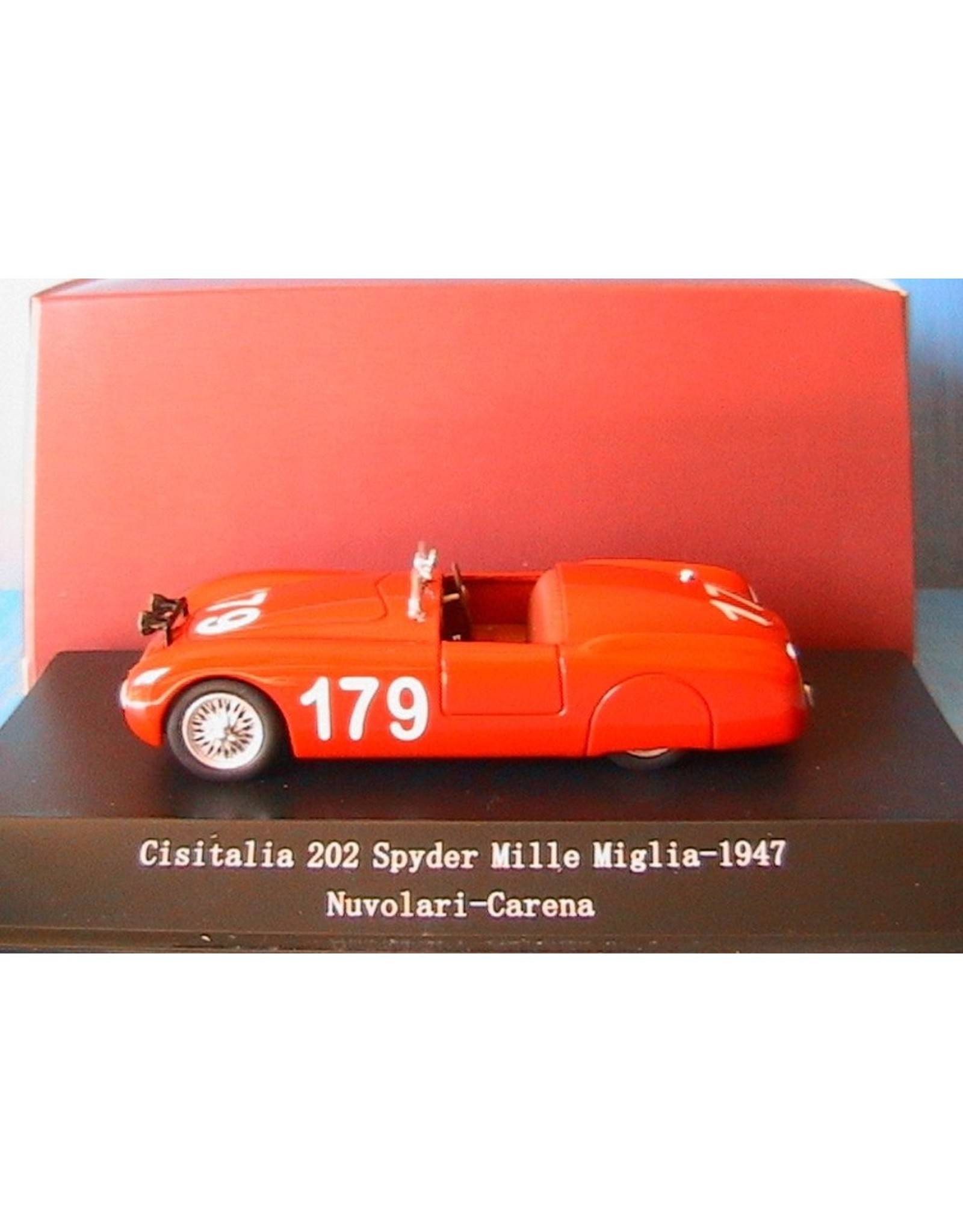 Cisitalia CISITALIA 202 SPYDER MILLE MIGLIA-1947(Nuvolari-Carena)#179.