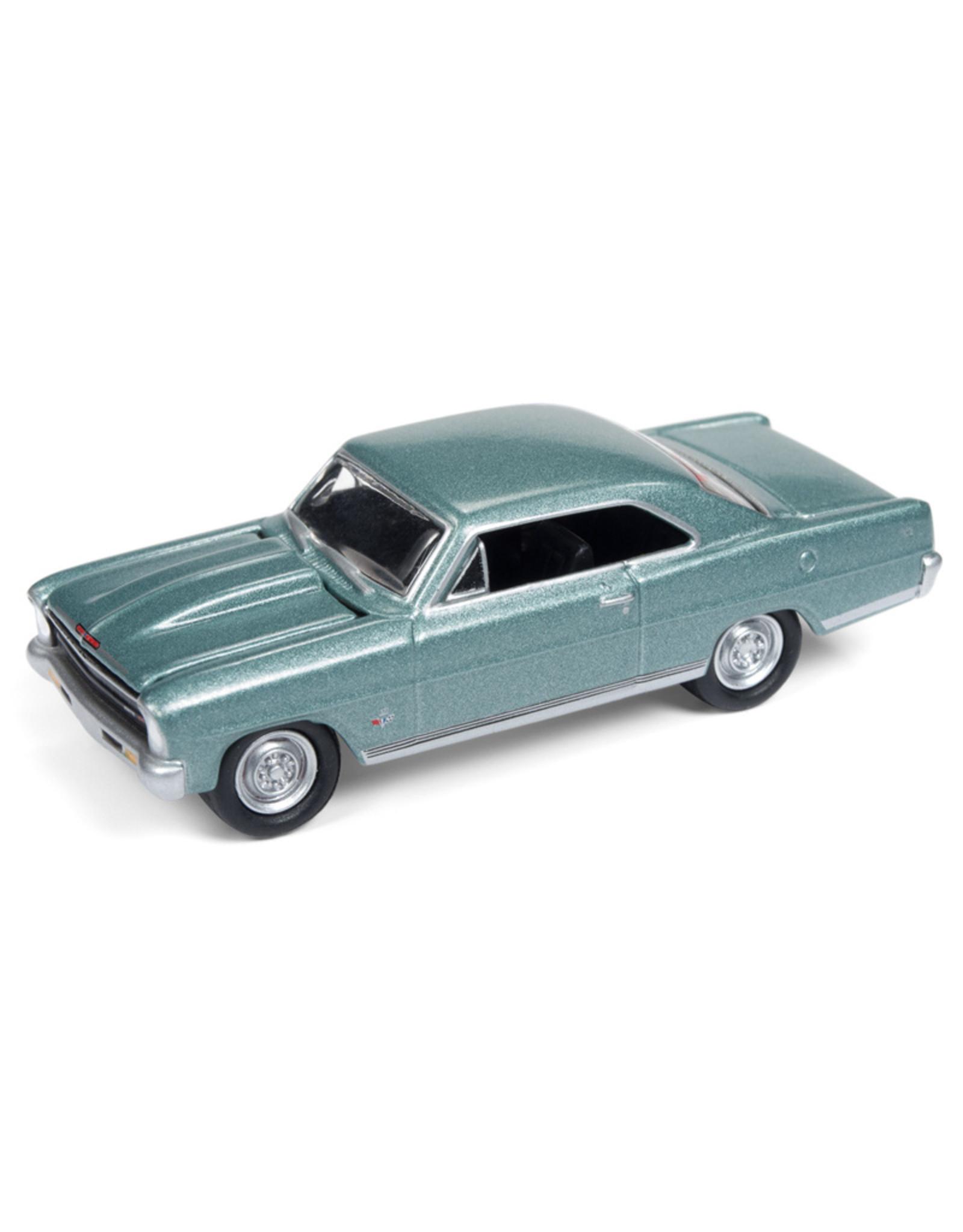 Chevrolet CHEVY NOVA SS-1966(green mist poly)