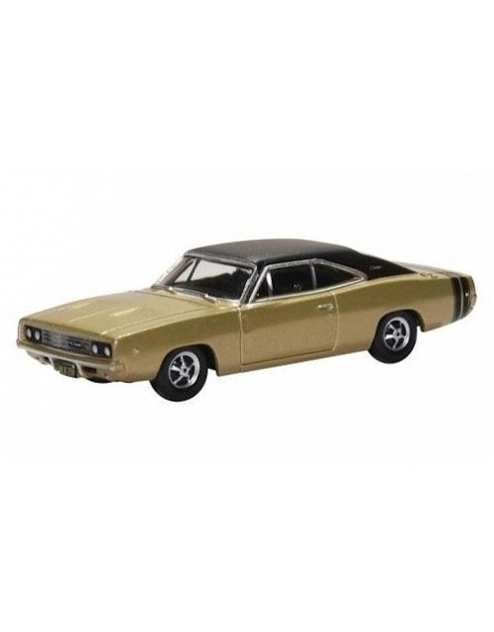 Dodge(Chrysler) DODGE CHARGER 1968(gold/matt black)