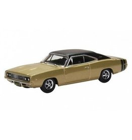Dodge(Chrysler) DODGE CHARGER 1968(gold/matt black)