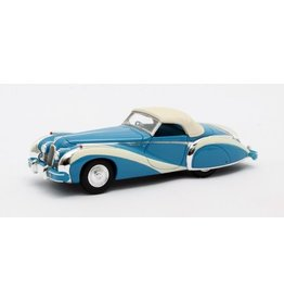 Talbot by Saoutchic TALBOT-LAGO T26 GS CABRIOLET SAOUTCHIC(blue)1948(closed)