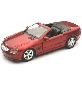 Mercedes-Benz MERCEDES-BENZ SL 500(karmijn rood)